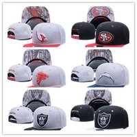 Wholesale Football Team Snapbacks - Good Style Football Snapbacks Cheap Sports Team Caps High Quality Cheap Snap Backs women and men Hats Most Popular Sports Team Flat Hats
