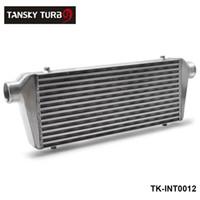 tansky intercooler al por mayor-TANSKY - NUEVO H G 550x230x65mm UNIVERSAL DELANTERO TURBO INTERCOOLER PARA Honda Civic Nissan Toyota TK-INT0012
