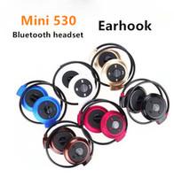 Wholesale Mini Bluetooth Ear For Music - Mini 503 Wireless Bluetooth 4.0 Stereo Headphone Handsfree Sports Music in-ear Earphone Headset Support TF card for Iphone 6 Ipad Samsung