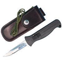 Wholesale auto gear tools - Promotion A1 Auto Tactial Knife Elmax Single Half Serrated Mirror Polish Blade Outdoor Survival Tactical Gear EDC Tools