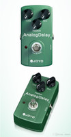 Wholesale Joyo True Bypass - Free Shipping Electronic New Joyo JF-33 Analog Delay Electric Violao Guitarra Guitar Effect Pedal True Bypass Musical Instrument Parts I293