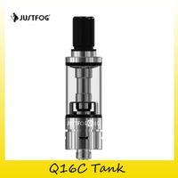 bcc spulen großhandel-100% original justfog q16c zerstäuber 1,9 ml unteren luftstrom bcc tank 1,6 ohm occ spule authentische 510 gewinde vape mod 2245019