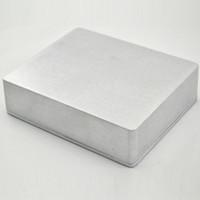 Wholesale echo chorus pedals for sale - Group buy 2PCS PB N1512 XX Type Guitar Effects Aluminum Pedal Enclosure Box L x120 W x39 H mm