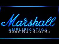 All'ingrosso-K168-b Marshall chitarre basso luce al neon amplificatore LED segno Dropshipping