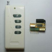 links de canais venda por atacado-4 controle sem fio universal sem fio da relação dos jogos de controle RF dos interruptores DC5V dos canais