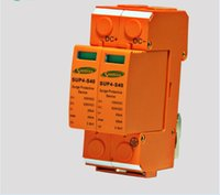 Wholesale High Voltage Protector - SSPD Surge Protector DC 500V 20KA 2P Under Voltage Over Voltage Protector for PV System II Classified Test 2P Pole High Quality