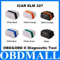 2016 100% originale Vgate iCar2 Bluetooth OBD Scanner iCar 2 ELM327 interfaccia diagnostica scanner di codici ad alto ZB0286 prestazioni