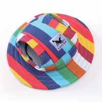 Wholesale Dog Summer Pet Mesh - Lovely Princess Dog Cap Breathable With Ear Holes   Mesh Sun Hat   Beach Hat For Small Puppy Summer Pet Products 8 Styles