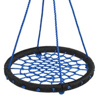"Wholesale Hanging Seat Swing - 24"" Web Swing Playground Tree Outdoor Hanging Play Slide Seat Nylon Net Rope"