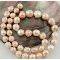 beaded necklaces asian u0026 east indian womenu0027s 1012mm baroque south sea gold pink natural