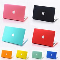 Wholesale Crystal Laptop Cases Apple - Matte Clear Crystal Rubberized Frosted Hard Plastic Case Cover For Apple Macbook Air 11 Pro 13 12 with Retina