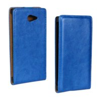 Wholesale Cover Dual Sim Iphone - Retro Style Crazy Horse Flip Leather Case For SONY Xperia M2 S50H D2303 D2305 D2306 Dual Sim Mobile Phone Protective Cover