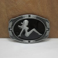 Wholesale Cowboy Sexy Man - Wholesale-Gorgeous Fashion Sexy girl belt buckles metal west cowboy brand DIY wild fashion men black silver belt buckle Turbo Nos