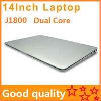 Wholesale Mini Laptop Windows Cheap - 14 inch Laptops Notebook Intel Dual Core HDMI laptops J1800 Win Seven 2GB 160GB 250G 320G Cheap Mini laptop Computer PC