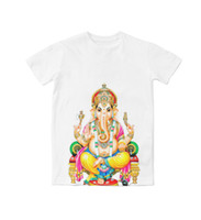 fdfde4aa6d03 Real American USA Size Lord Ganesha 3D Sublimation print T-Shirt Plus size