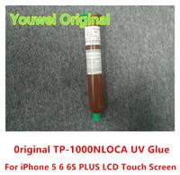 Wholesale Iphone Loca Glue Clear - 100% Original Factory Youwei TP-1000N LOCA UV Glue Liquid Optical Clear Adhesive for iPhone 5 6 6S Plus LCD Glass Lens
