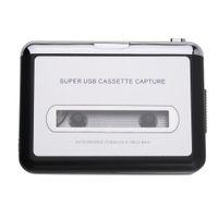 Wholesale Tape Cassette Dvd Converter - 1Pc Tape Cassette to PC MP3 CD USB Converter Capture Walkman Music USB Cable