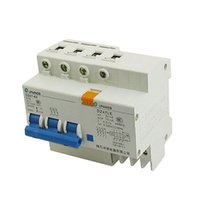 Wholesale Earth Leakage - Wholesale-DZ47-63 DZ47LE 10A 400VAC 6000A 3 Pole Mini ELCB Earth Leakage Circuit Breaker