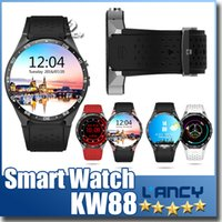 Wholesale Music Maps - Smart Watch KW88(MTK6580 1.3GHz ROM4GB+RAM512Mb) 1.39Inch. UHD AMOLED Android 5.1 BT4.0 SIM WIFI GPS Music Google map G-sensor