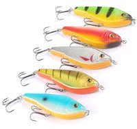 Wholesale Walleye Jigs - 1PC Mizugiwa Topwater Musky Pike Bass Walleye Jerkbait Lure 120mm 50g Lundberg Big VIB Baits STALKER Jerk bait MUSKIE Lure Bait