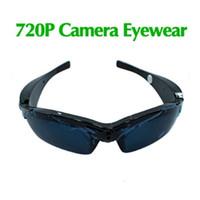 Wholesale Spy Eyewear Hd - 5MP 4GB 720P HD Sunglasses Camera Eyewear Spy Video Camera