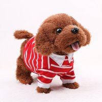 Wholesale Dog Musical - Funny Electronic Dog Pet Singing Walking Musical Plush Pet Robot Dog Toys Interactive Toys For Kids Baby