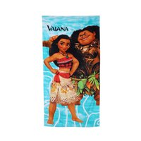 Wholesale Child Cotton Bath Robe - 70*140CM kids moana bath towels children cartoon swimming shower towel boys girls beach towel robes Dhl free shipping