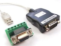Wholesale Rs 485 Cables - Free Shipping USB 2.0 USB 2.0 to RS485 RS-485 RS422 DB9 COM Serial Port Device Converter Adapter Cable Prolific PL2303 LN003278