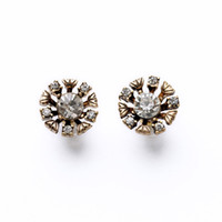 Wholesale Cheap Vintage Stud Earrings - 5Pairs Hot Sale Fashion Women Jewelry Retro Cheap Price Vintage Style Small Drill Stones Stud Earrings