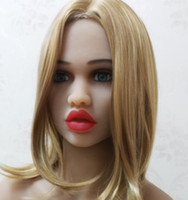 Wholesale Japanese Sex Dolls Heads - DL #66 full size silicone sex doll head for big size love doll,oral sex doll heads