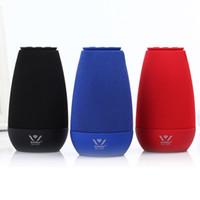 Wholesale Bluetooth Speaker 3w - Wireless Bluetooth Speakers 3W WSA-8616 NEW Cloth Art HiFi Portable Speaker Private model best wireless speakers Desktop speaker