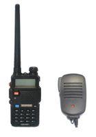 Wholesale Ham Radio Set Two Way - Wholesale-Radio sets BAOFENG UV-5R VHF UHF Dual Band portable ham two way Radio amateur walkie talkie +2pin speaker MIC +free shipping