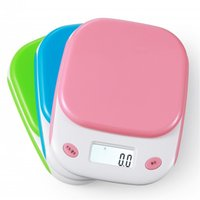 Wholesale Baking G - Kitchen scale 1 g baking kitchen electronic scale electronic scale miniature said jewelry scale food platform scale 5 kg