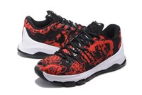 Wholesale Men Kd Shoe Cheap - 2016 Cheap Kevin Basketball Shoes KD 8 EXT Floral Sports Shoes Kd8 Usa Suit shoes euro 40-46