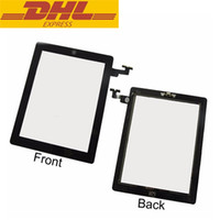 Wholesale Ipad 2nd Digitizer - For Ipad 2 Touch Screen Digitizer Glass With Home Button Assembly Replacement For Ipad2 2nd DHL Freeshipping