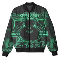 Wholesale Custom Printed Fleece - 3 Styles Real USA Size Weeknd Party Xotwod 3D Sublimation Print custom made zipper up Jacket plus size