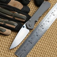 Wholesale Small Sebenza D2 - Small Sebenza Inkosi TC4 Titanium Handle D2 steel blade Folding Pocket hunting Knife camp Tactical survival outdoor gear knives edc tools
