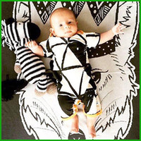 Wholesale Cute Zebra Clothes - best selling tyfactory one piece 2016 new newborn baby rompers clothing baby boys clothes cute toddler one-pieces jumpsuit free shipping