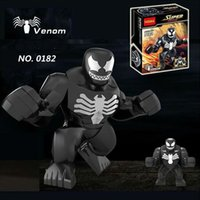 de gros! Decool figure 0182 Super Heroes The Avengers 10pcs / lot grand Figurines d'action de Venom Figurines