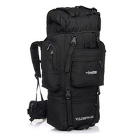 Wholesale Travel Back Bags For Men - Local lion 85L New Back Shoulder Backpack Outdoor Sport Hiking Camping Force Bracket Mountaineering Backpack Travel Bag for Man Woman