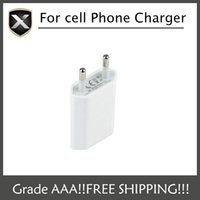 Wholesale Cell Phone Car Usb Charger - Universal USB AC Power Adapter Travel Charger EU Plug Wall Charger Adaptor Charging For iPhone Samsung cell phone free shipping