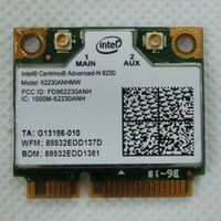 All'ingrosso-Nuovo mini half PCI-E card intel 6230 62230ANHMW Wi-Fi wireless express wlan per laptop