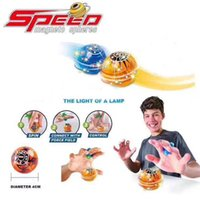 Wholesale Glow Magnetic - Fidget spinner Magic Speed induction Magneto Spheres Magnetic Flashing Glowing Ball Spinner Toys Stress Reducer Christmas gifts
