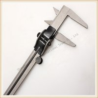 Wholesale Measuring Can - Wholesale-Iron Calipers Measure Range 0-130mm Accuracy 1mm 1 pcs Sell vernier Calipe Measuring Tool Can Drop Shipping