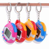 Wholesale Games Sounds - 6 style 49 Virtual Cyber Digital Pets Electronic Tamagochi Pets Retro Game Funny Toys Handheld Game Machine Gift For Children