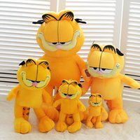 Wholesale Garfield Cat Stuffed Animals - Hot Selling! 1pcs 20-60cm Plush Garfield Cat Plush Stuffed Toy High Quality Soft Plush Figure Doll Free Shipping