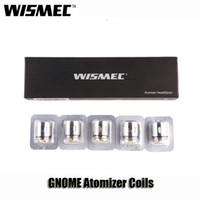 Wholesale triple coils - Original Wismec GNOME Atomizer Coils WM01 Single 0.4ohm WM02 Dual 0.15ohm WM03 Triple 0.2ohm Head For Reuleaux RX GEN3 Kits