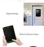 """Wholesale Memo Magnetic Whiteboard - New Writing Tablet Board 8.5"""" LCD Can Be Used as Whiteboard Bulletin Board Kitchen Memo Notice Fridge Board Magnetic Large Daily Planner"""