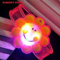 Wholesale Doraemon Watches - Light Up Toys Colorful Cartoon-Watch Doraemon cat Movie Led Toys Novelty Cute Luminous Glowing Christmas Gift kids novelty toys