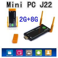 Mini PC J22 RK3188 Cortex A9 Quad Core Android 4.4.2 Mini PC CX-919II 2GB 8GB Smart TV Box CX-919 II CX 919II WIFI Двойная антенна